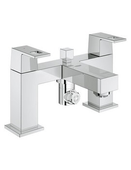Grohe Eurocube Two Handled Bath Shower Mixer - 25137000