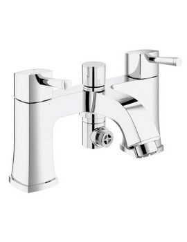 Grohe Spa Grandera Two Handled Bath Shower Mixer Tap - 25167000
