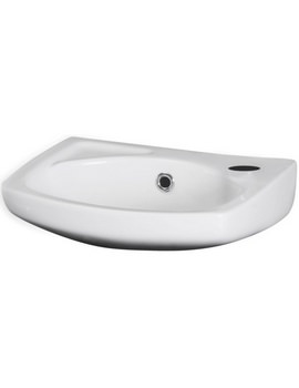 Nuie Premier Brisbane 350 x 280mm Wall Hung Basin With Centre Overflow