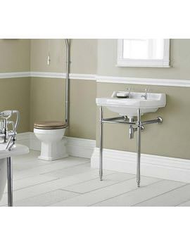 Hudson Reed Richmond Chrome Adjustable Washstand