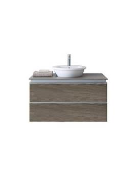 Duravit Darling New 1000mm 2 Drawers Unit With Basin