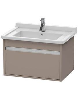 Duravit Ketho 800 x 465mm Wall Mounted 1 Pull Out Compartment Vanity Unit
