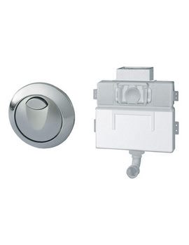 Grohe EAU2 WC Dual Flushing Cistern With Air Button 38691000