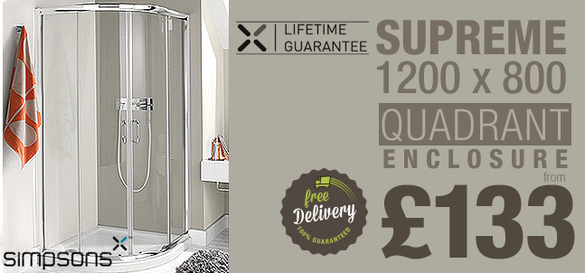 Simpsons Supreme Luxury Enclosure 1200 x 800mm