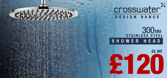 Crosswater 300mm Design Shower Head