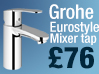 Grohe Eurodisc Basin Mixer Tap Offer