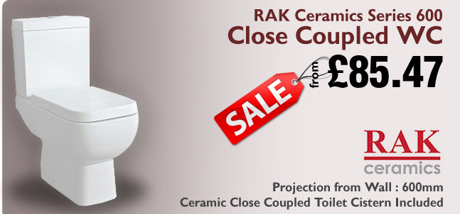 RAK Ceramics 600 Close Coupled Series