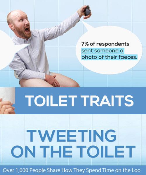 Tweeting On The Toilet